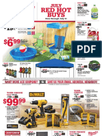 Seright's Ace Hardware July 2017 Red Hot Buys