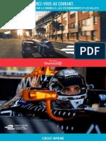 Montreal Formula E Pamphlet 2017