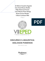 Discurso e Linguística Diálogos Possíveis.