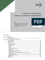 Nissan Way Assistance e Manual de Garantia e Manutenção - Veículos Flex Fuel