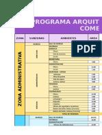 Modelo Programa Arq