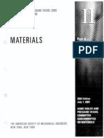 ASME II a-2004 Materials Contents