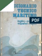 diccionario tecnico maritimo (ingles español-español ingles)(704 pag) por salema
