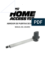 Home Access 150 Manual c