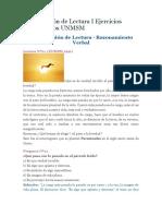 Comprensión de Lectura I Ejercicios Resueltos.doc
