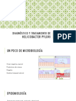 Diagnóstico y Tratamiento de Helicobacter Pylori