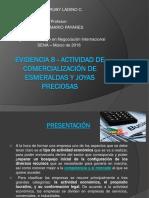 Evidencia 8 - Actividad de Comercialización de Esmeraldas y Piedras Preciosas