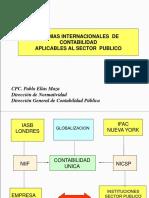 Nics Aplicables Sector Publico