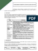 Licenciamento Ambiental de Instalações Náuticas