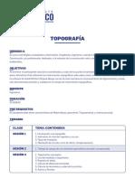 Temario - Curso de Topografia - Capeco