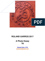 French Open 2017 Photo Essay