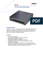 Switch DH Pfs3005 4p 58