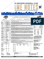 7.6.17 vs. PNS Game Notes