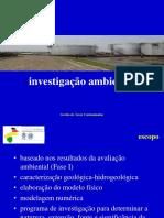 5.2 Investigação Ambiental