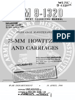 002523 TM 9-1320 Ordnance Maintenance-75-Mm Howitzers and Carriages-1944