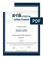 certificateofcompletion mental-emotional disorders jessicalones