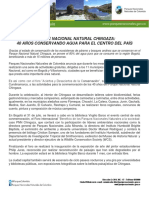 067 - PNN Chingaza 40 Años Conservando Agua Para El Centro Del País