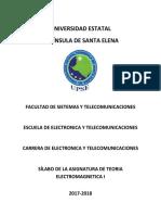 Silabo Teoria Electromagnetica I (1)