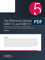 ISACA COBIT Differences 4to5