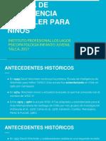 ESCALA DE INTELIGENCIA WECHSLER PARA NIÑOS.pptx