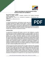 Comportamiento de Modelos Geotécnicos Para Estructuras de Pa