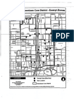 Blue Box - Exempt Zones Map in Downtown Orlando