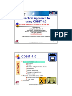 Microsoft PowerPoint - Practical Approach to Using COBIT 4.0 - IsACA, Dubai - Rafeq.A