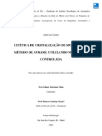 caracterização metalurgica