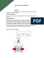 Aparato Método de Gouy Modelo