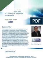 Mejores PráCticas Para SQL-Server en Ambientes Virtualizados