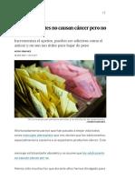 Edulcorantes y Salud _ El País