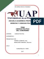 Cianecia Politica Comunista Monografias Uap