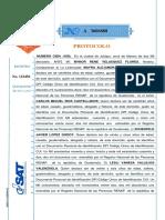 Formato de Protocolo