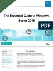 Microsoft Windows Server 2016 Essential Guide