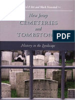 New Jersey Cemeteries and Tombstones History in the Landscape