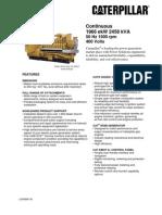 Cat G3520C Engine Coal Mine Gas