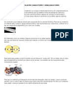 Materiales Aislantes Conductores y Semiconductores