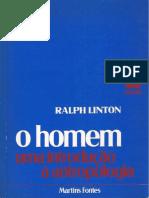 5B - Ralph Linton - O Homem - Uma Introdução à Antropologia