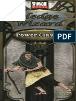 Power Classes. Hedge Wizard