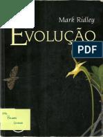 Evolução - Mark Ridley 3a Ed Parte 1