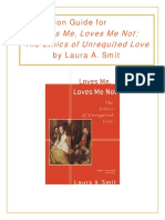 Discussion Guide for Loves Me, Loves Me Not (Smit)