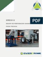 Ficha Técnica XRD30U Rev.01 140526
