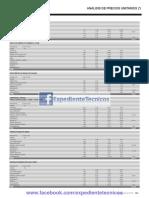 20__Analisis de Precios Unitarios 2016