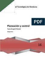 Planeacion y Control Tarea Grupal II