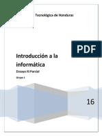 Ensayo III Parcial Introduccion a La Informatica