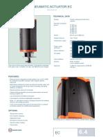 Pneumatic Actuator Ec