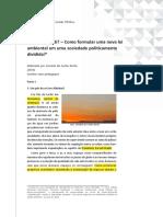 Rocha_2014_como Formular Uma Lei Ambiental