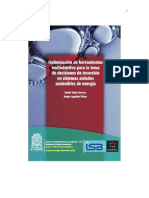 Optimización de herramientas multiobjetivo para la toma de decisiones de inversión en sistemas aislados sostenibles de energía