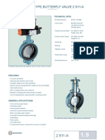 WAFER TYPE BUTTERFLY VALVE Z 611-A Resilient seated.pdf