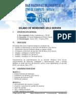 9 Silabo de Windows 2012 Server